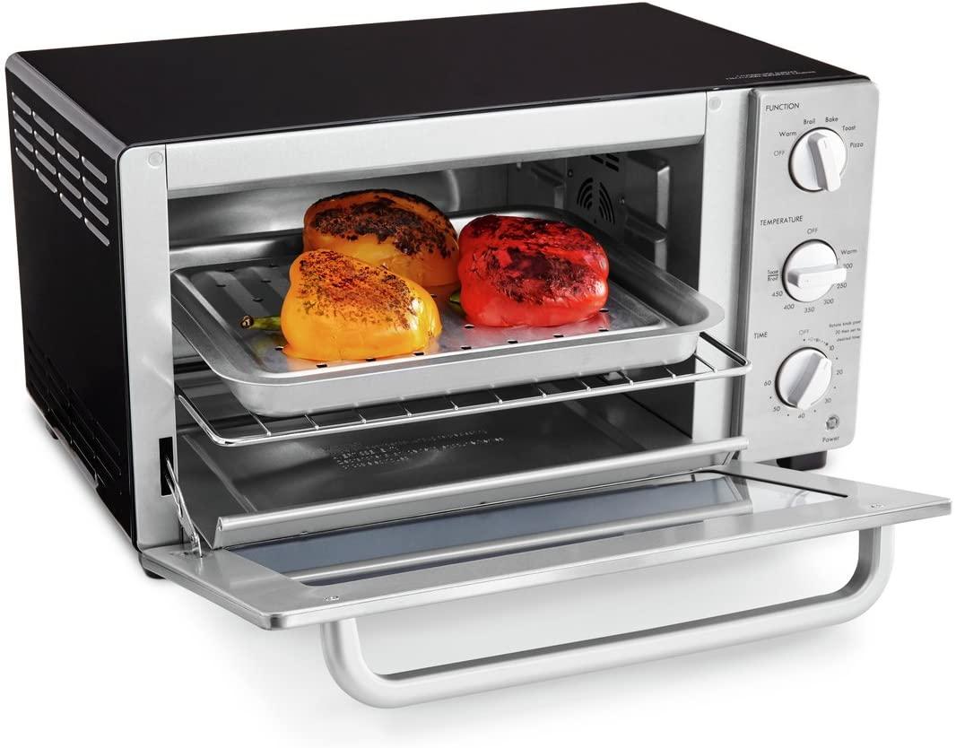 Kenmore 6 Slice Black Toaster Oven Convection Auto Shut