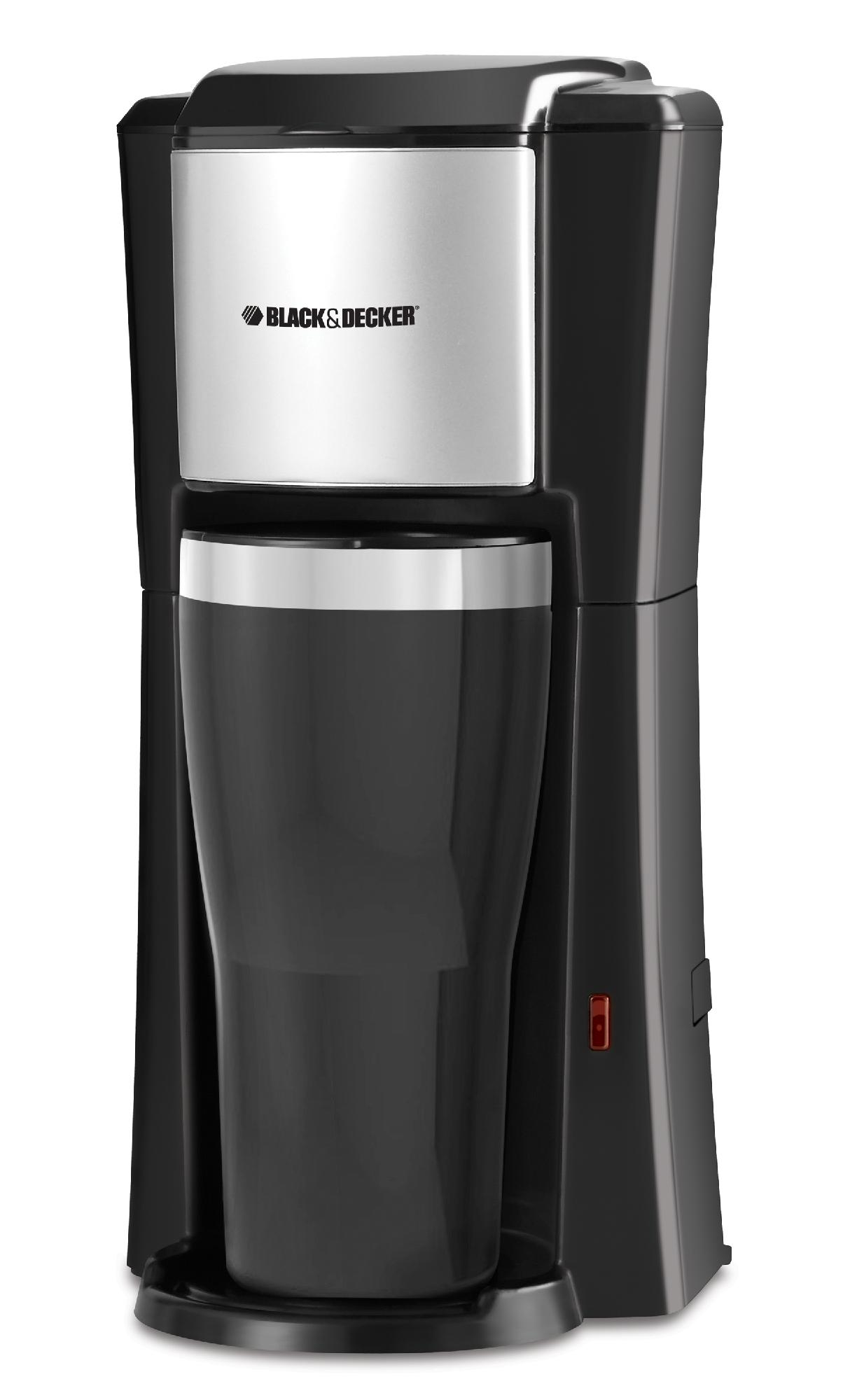 Black Decker 16 Oz Black Coffee Maker Travel Mug Included Permanent Filter Auto Shut Off Standard Distributors Limited
