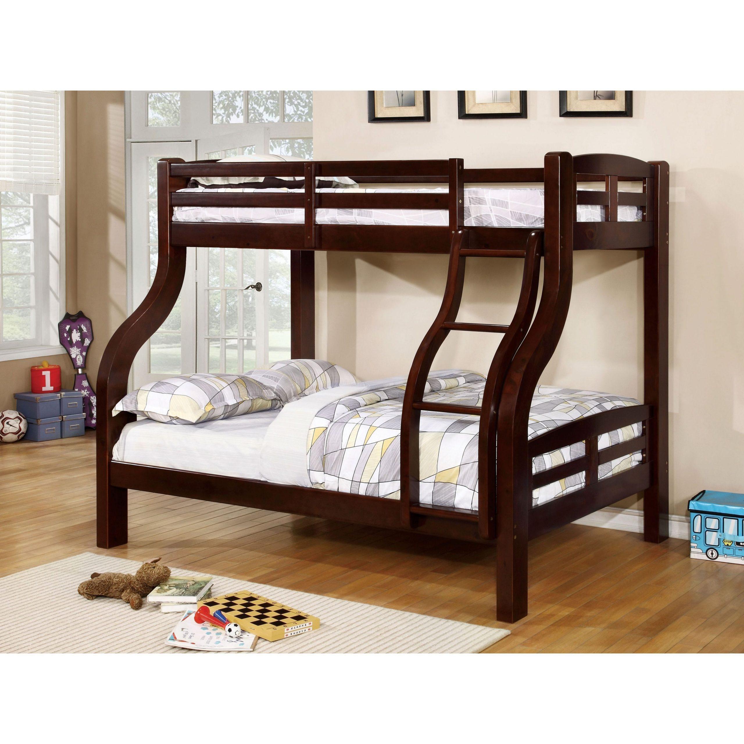 solpine twin full size dark walnut bed bunk standard distributors limited. Black Bedroom Furniture Sets. Home Design Ideas